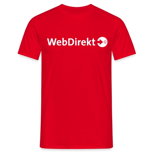 webdirekt logo vector - Männer T-Shirt