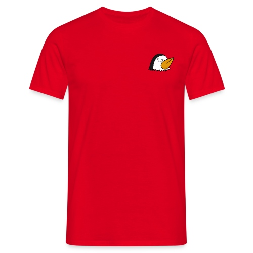 Angry Penguin - Maglietta da uomo