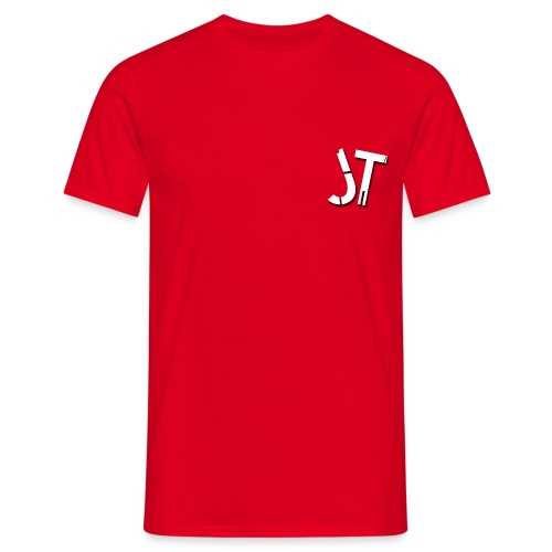 JT LOGO transparent png - Men's T-Shirt