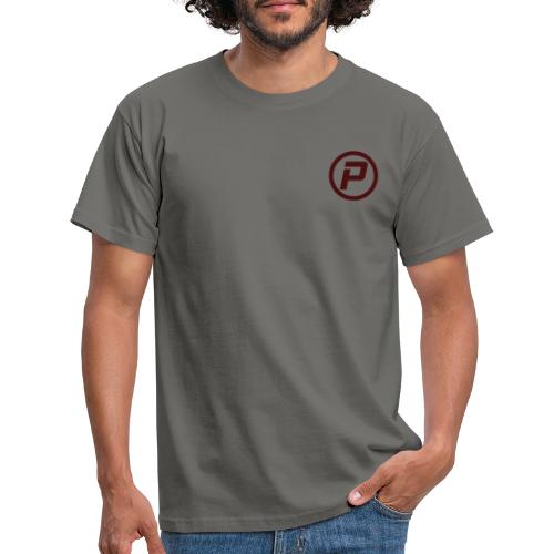 Polaroidz - Small Logo Crest | Burgundy - Men's T-Shirt