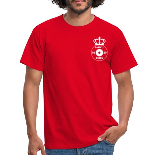 The Barbell Queen - Men's T-Shirt