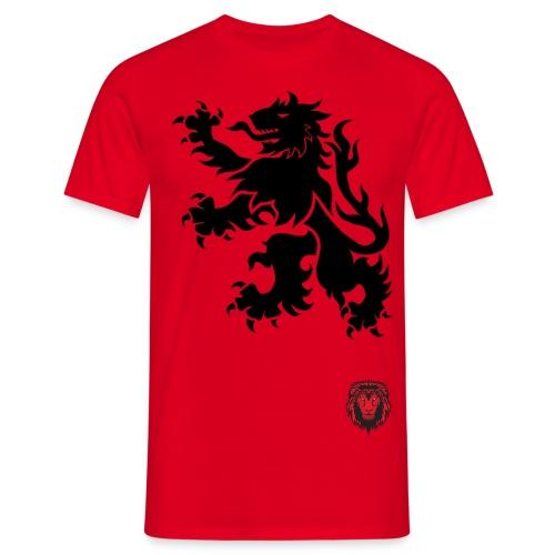 colouredlion headhored - Men's T-Shirt