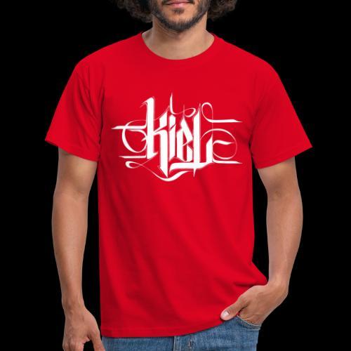 kielcallylogowhite - Männer T-Shirt