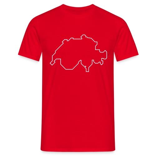 schweiz boarders - Männer T-Shirt
