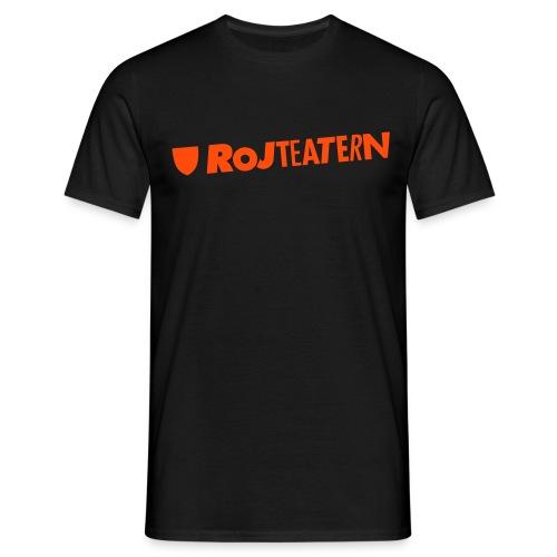 T-shirt herr logga navy/orange - T-shirt herr