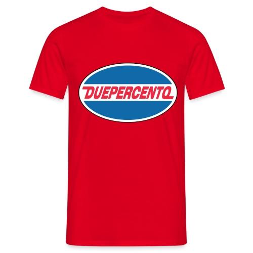 DuePerCento Oil - Maglietta da uomo