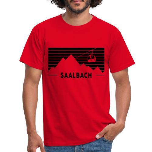 Saalbach Stripes - Mannen T-shirt