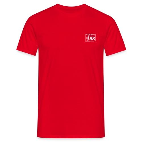 EBS Logo weiss png - Männer T-Shirt