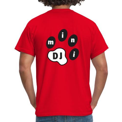 DJMini Logo - Herre-T-shirt