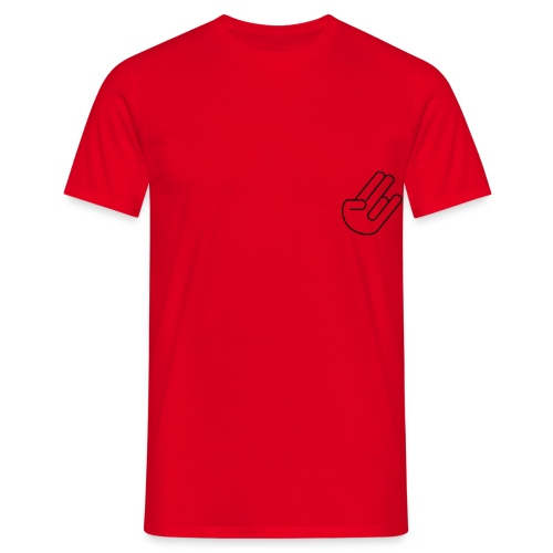 hand shocker - T-shirt herr