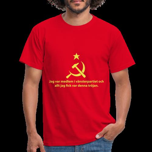 Vänsterpartiet Kommunisterna - T-shirt herr