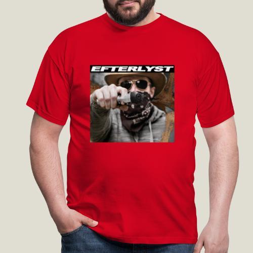 efterlyst bajs i bilen - T-shirt herr