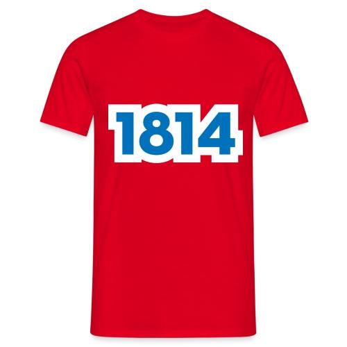 1814 - T-skjorte for menn