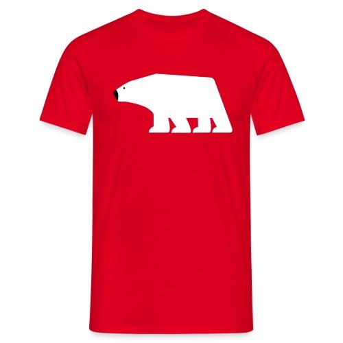 Polarbear, Eisbaer - Männer T-Shirt