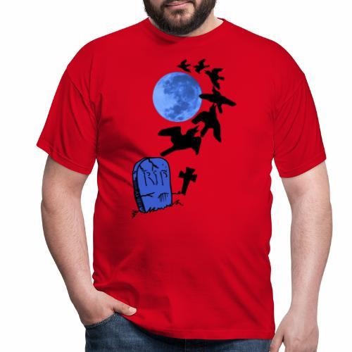 Halloween Mond - Männer T-Shirt