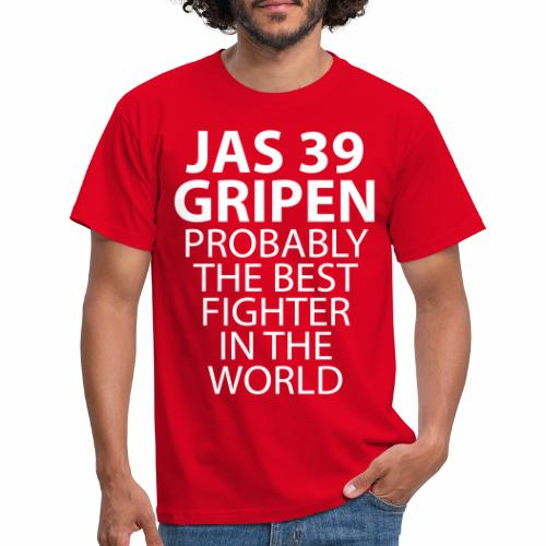 Gripen - Probably the best fighter - T-shirt herr