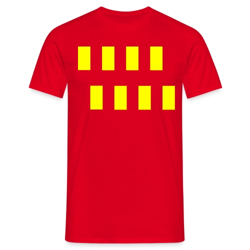 northumberlandflag1 - Men's T-Shirt