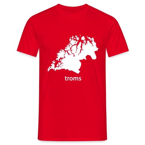 troms - T-skjorte for menn
