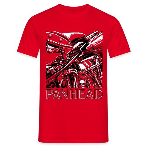 Panhead motordetail 04 - Mannen T-shirt