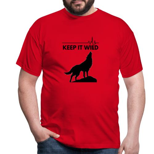 Keep it wild - Männer T-Shirt