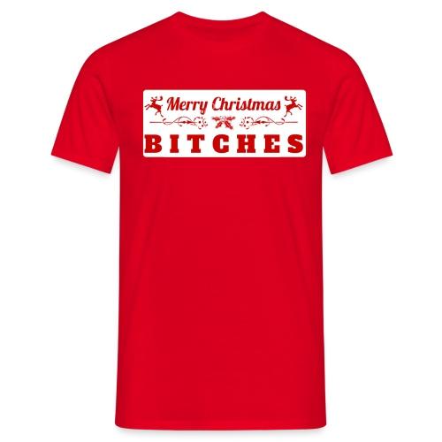 Merry Christmas B. - Mannen T-shirt