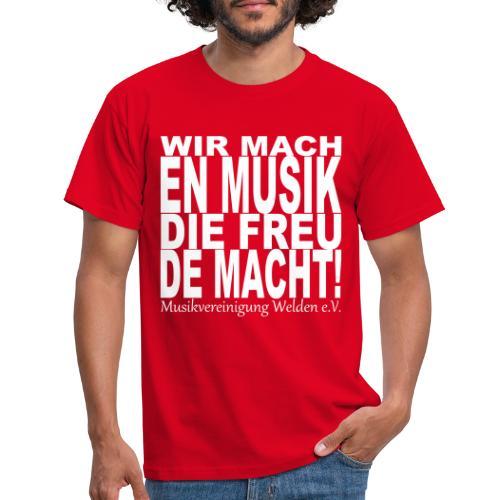 WmMdFm - Männer T-Shirt