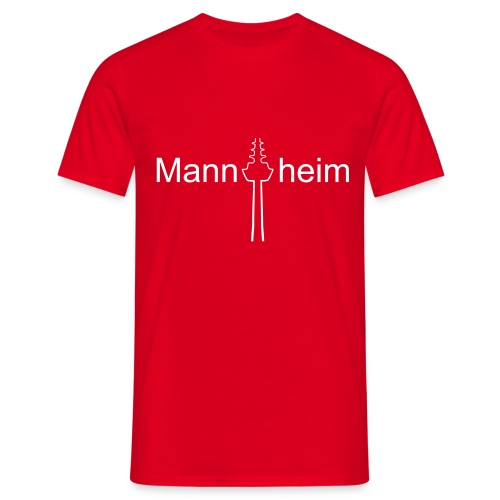 Mannheim - Männer T-Shirt