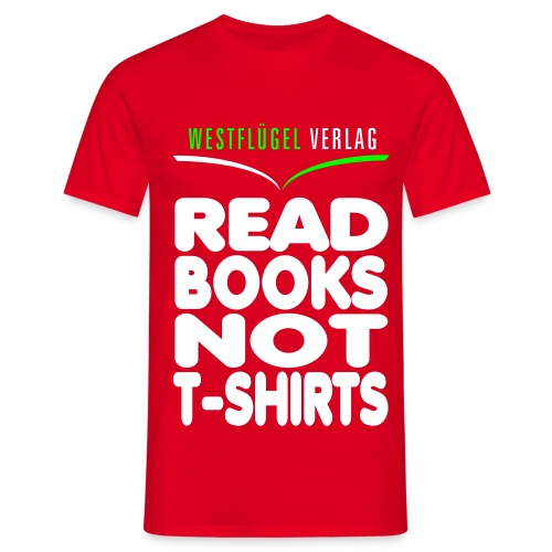 Westflügel Klassiker schwarz - Männer T-Shirt