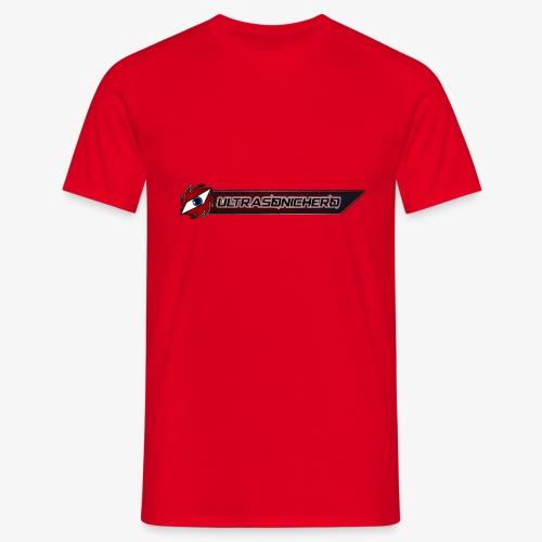 UltraSonicHero Title - Men's T-Shirt