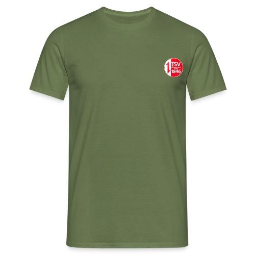 Rand um Logo - Männer T-Shirt