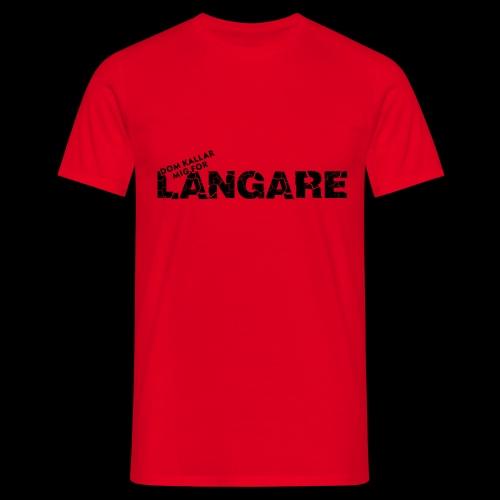 LANGARE - T-shirt herr