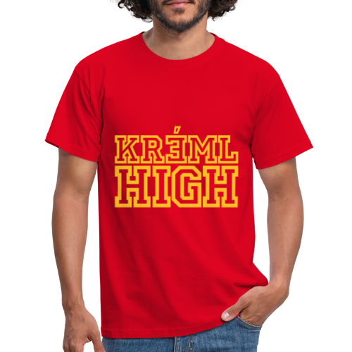 Kreml High - T-shirt herr
