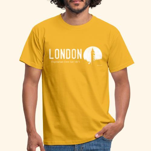 London Vegetarian Crew - Men's T-Shirt