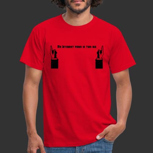 My Internet Penis - T-shirt herr