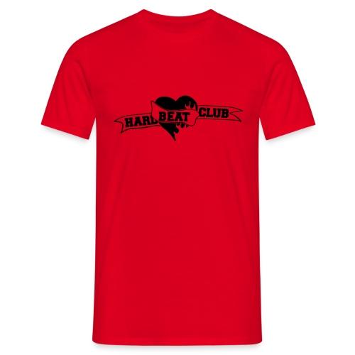 Hardbeatclub einfarbig - Männer T-Shirt