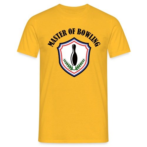 Master Of Bowling - T-shirt Homme