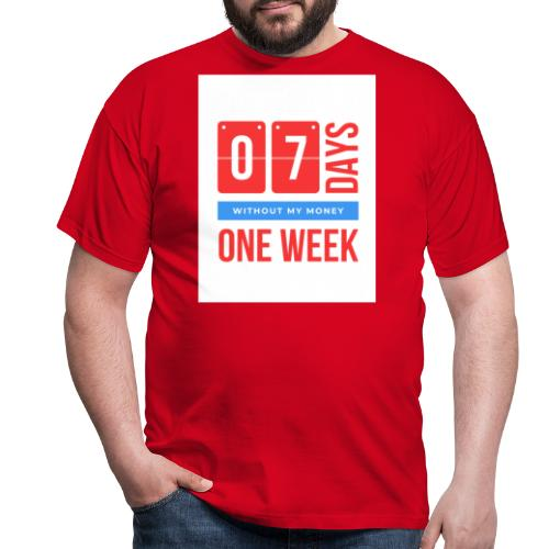 one weEk seven days - T-shirt Homme