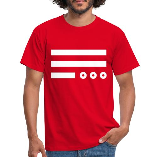 The Day He Is Out Of Office Flag - Männer T-Shirt