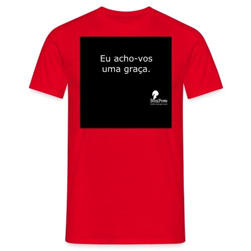 bompovo euachovosumagraca - Men's T-Shirt