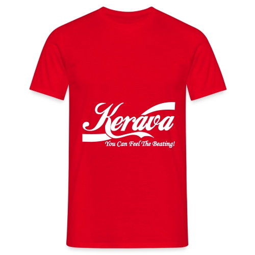 Kerava You Can Feel The Beating - Miesten t-paita