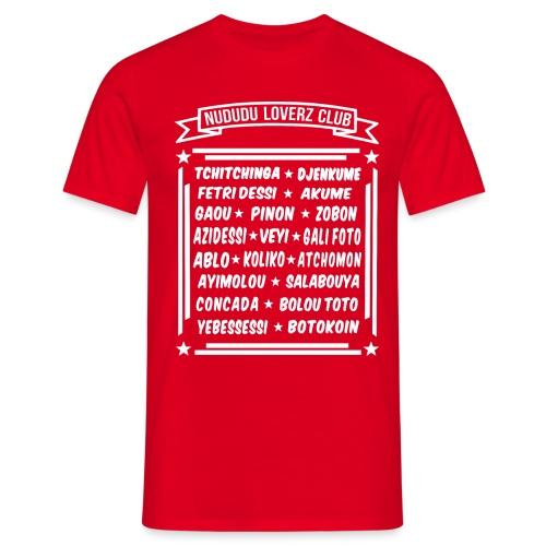 NUDUDU LOVERZ CLUB - T-shirt Homme