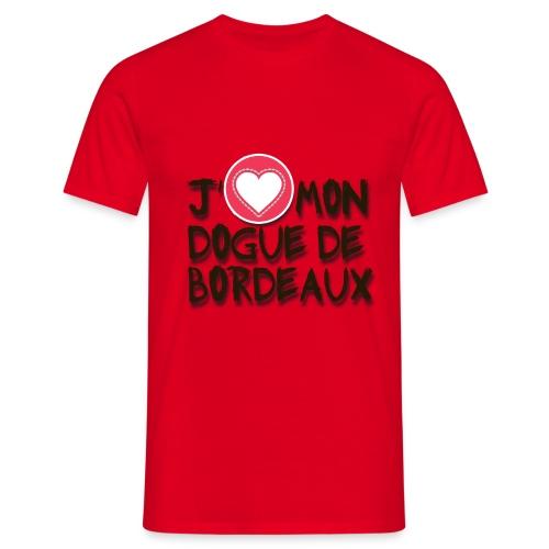 ilove01 - Männer T-Shirt