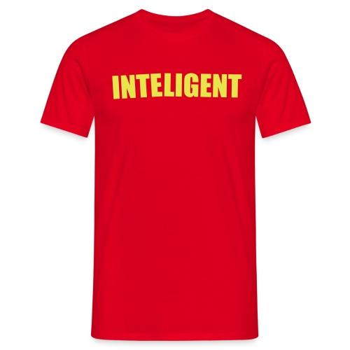inteligent design - T-shirt herr