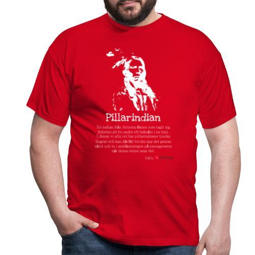 Pillarindian - T-shirt herr