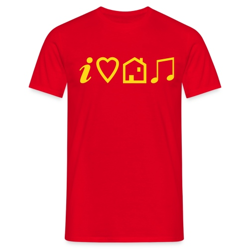 tsilovehousemusic - Men's T-Shirt