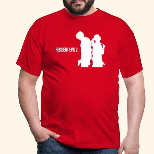 RE2 Leon Claire Logo Design - Men's T-Shirt