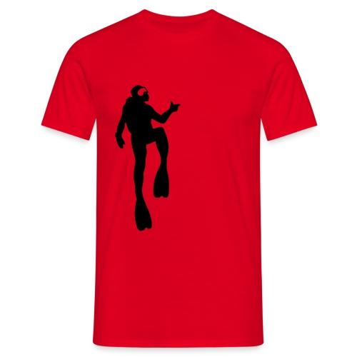 Taucher - Männer T-Shirt