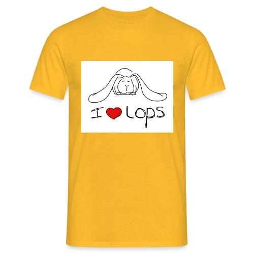 I Love Lops - Men's T-Shirt