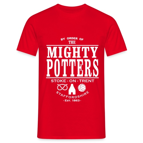 Mighty Potters - Men's T-Shirt