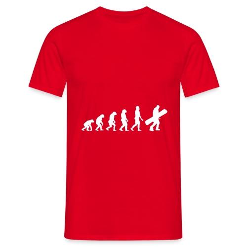 snow evolution - Camiseta hombre